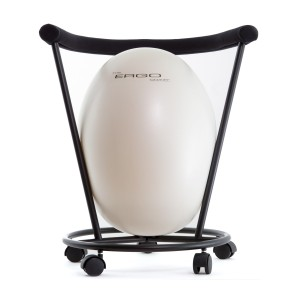 Pearl White Ergo Chair