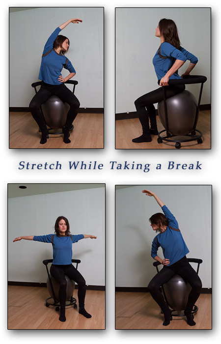 exercise ball chair secrets